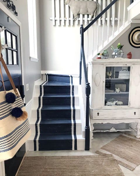 Interior Designs Painted Staircase