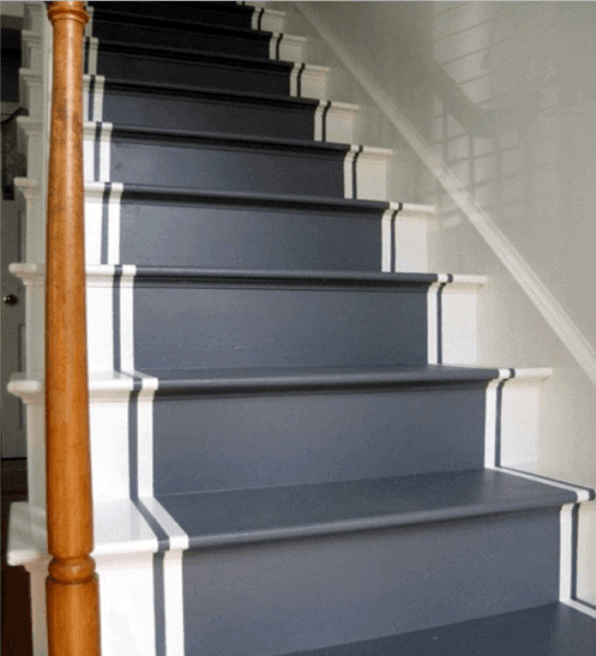Interior Designs Painted Stairs
