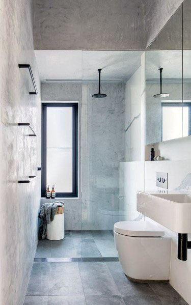 Interior Designs Shower Window