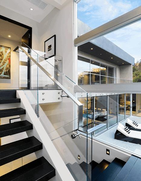 Top 70 Best Stair Railing Ideas Indoor Staircase Designs