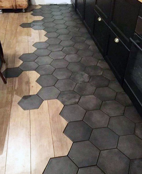 Interior Designs Tile To Wood Floor Transitions