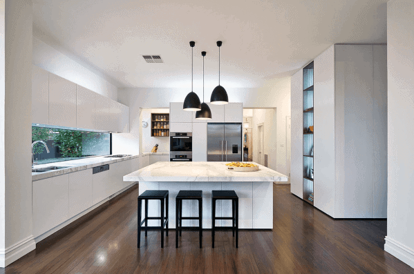 Interior Designs White Kitchens