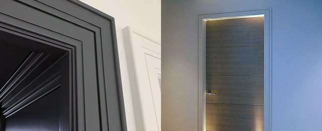 Merveilleux Interior Door Trim Ideas Molding Designs