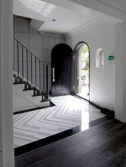 Interior Entryway Tile Design