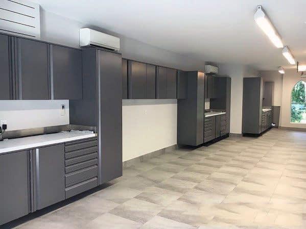 Interior Garage Cabinet Design