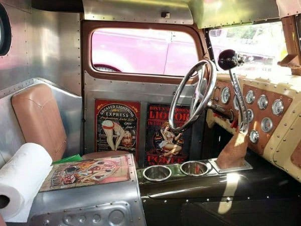 Top 50 Best Rat Rod Interior Ideas - Retro Automotive Designs