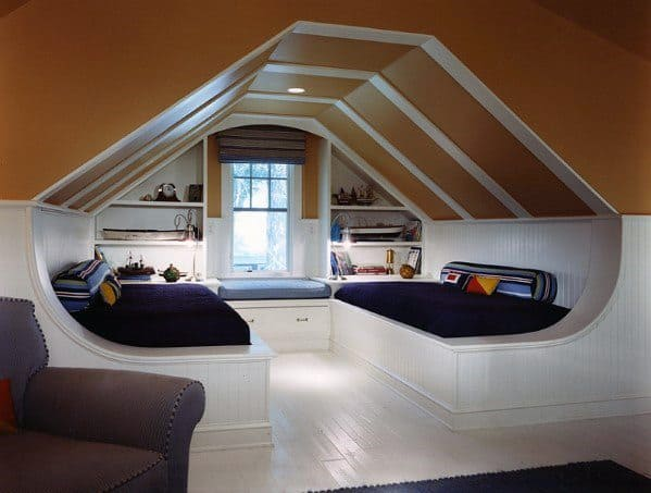 Interior Ideas Bonus Room Nook Beds