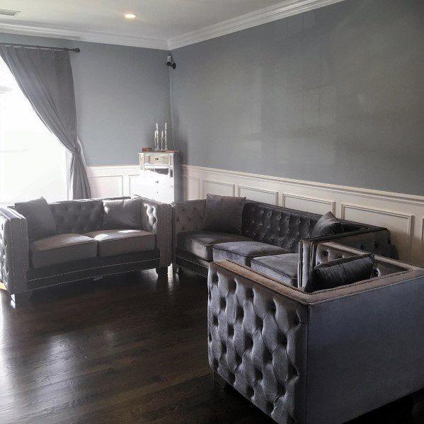 Interior Ideas Chair Rail Living Room