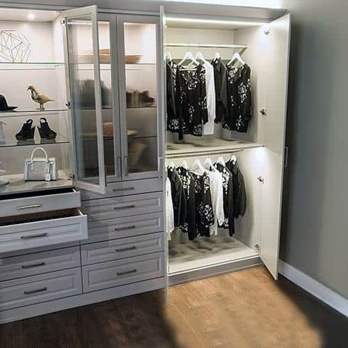 Interior Ideas Closet Lighting