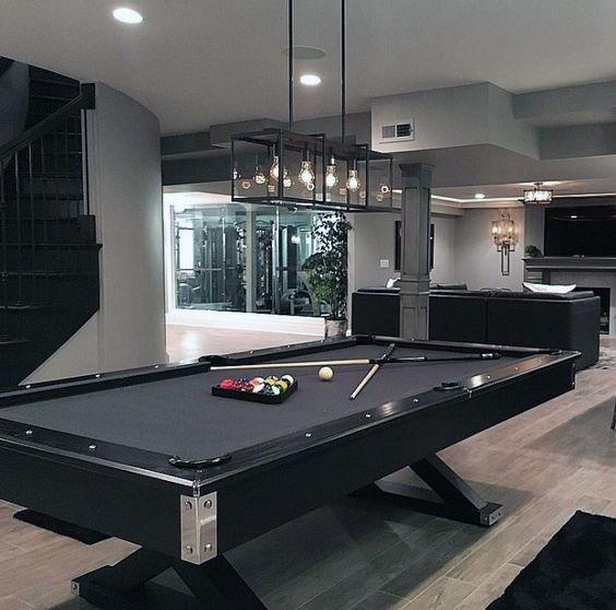Interior Ideas For Billiards Rooms