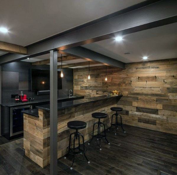 Top 70 Best Finished Basement Ideas