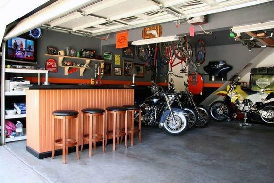 Interior Ideas For Garage Bar