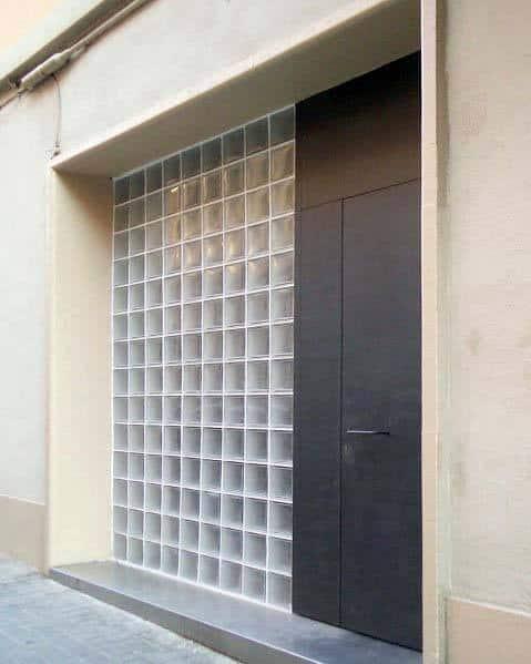 Interior Ideas For Glass Block For Front Door Window