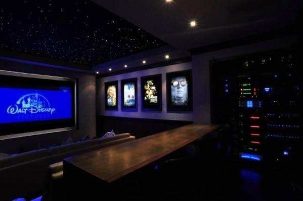 Interior Ideas For Home Theater Lighting