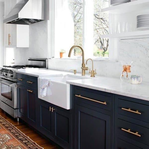 Top 70 Best Kitchen Cabinet Hardware Ideas