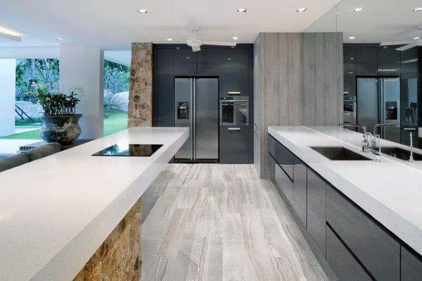 Interior Ideas For Kitchen Tile Floor