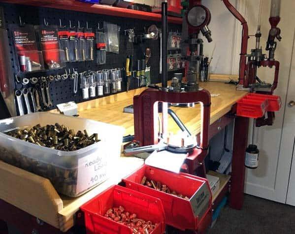 Interior Ideas For Reloading Bench