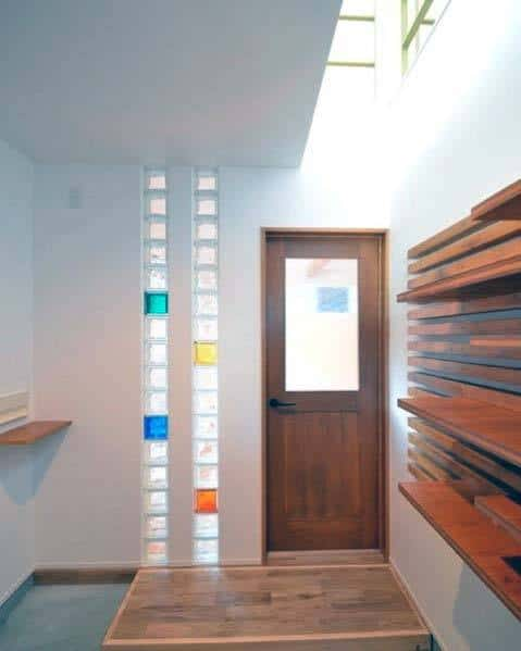 Interior Ideas Glass Block Front Door Entry Foyer