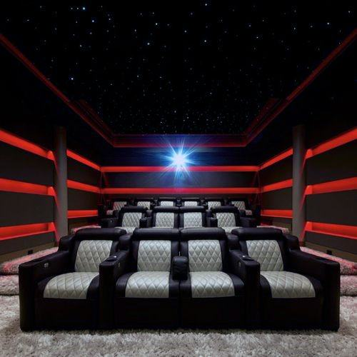 Interior Ideas Home Theater Lighting