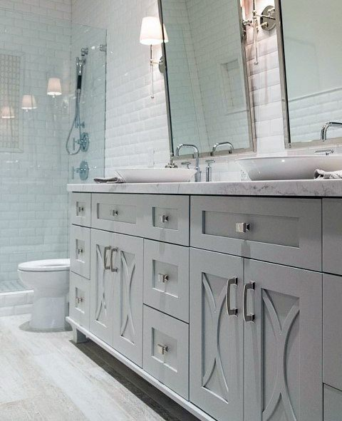 Interior Ideas Master Bathroom Double Sink Vanity Lighting