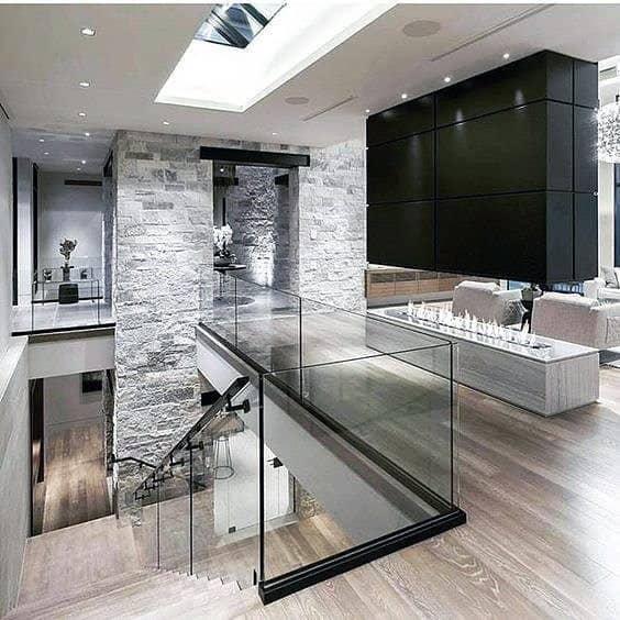 Interior Ideas Modern Fireplace Design
