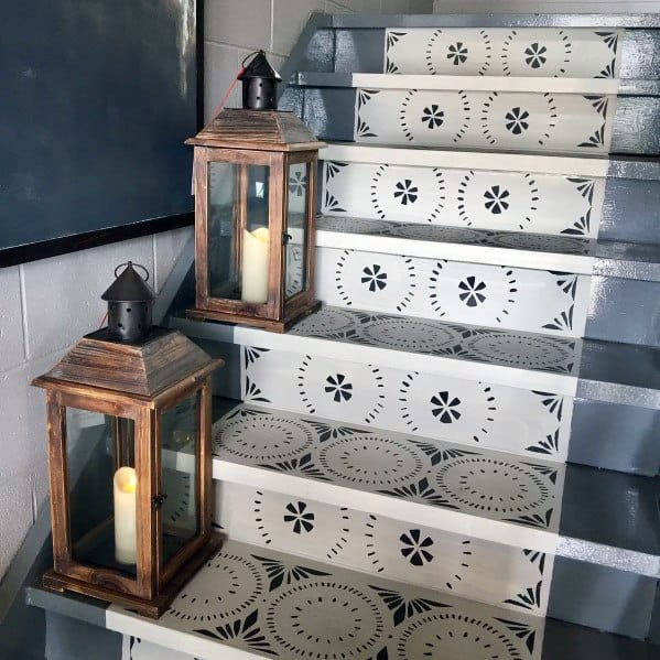 Interior Ideas Painted Stairs