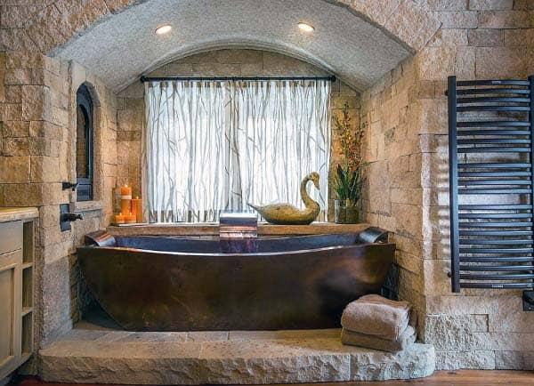 Interior Ideas Rustic Bathrooms
