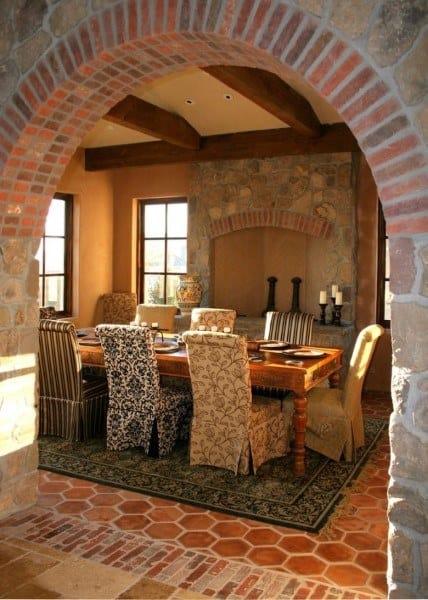 Interior Ideas Rustic Dining Rooms