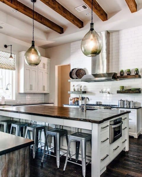 Interior Ideas Rustic Kitchens