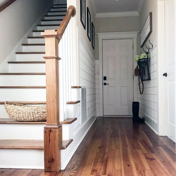 Interior Ideas Staircase Entryway Shiplap Wall