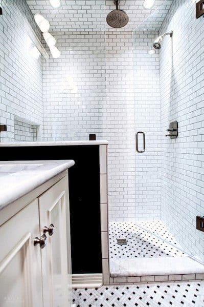 Interior Ideas Subway Tile Shower