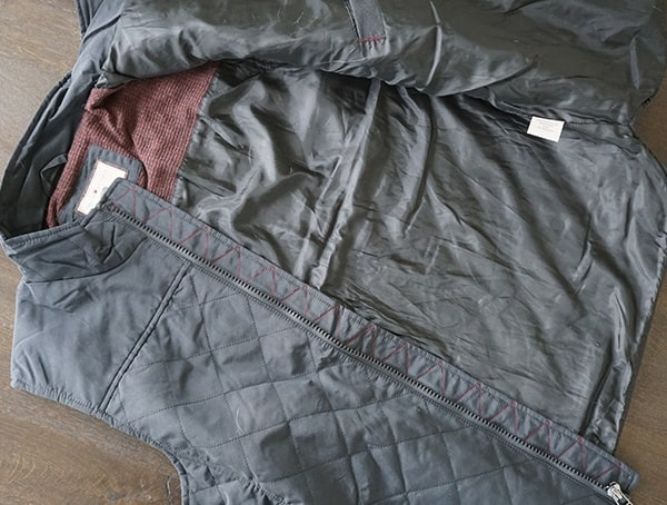 Interior Lining Dakota Grizzly Vic Quilted Mens Winter Vest