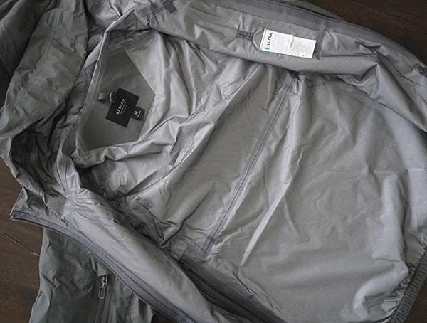 Interior Lining Waterproof Beyond Clothing K6 Arx Rain Mens Jacket