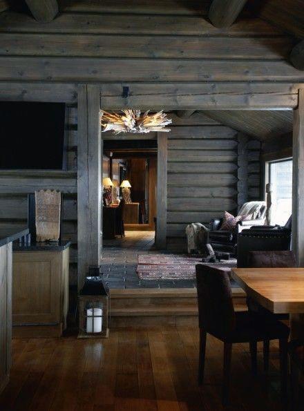 Interior Log Cabin Design