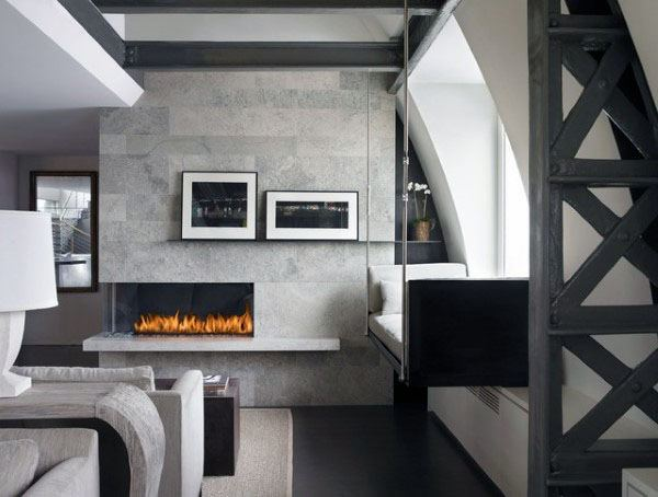 Interior Modern Fireplace Designs
