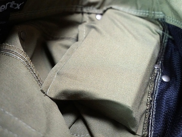 Interior Of Magazne Pocket Vertx Hyde Pants