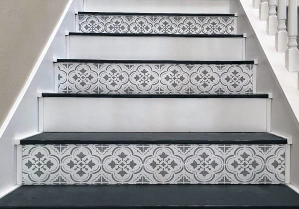 Interior Painted Stairs Design
