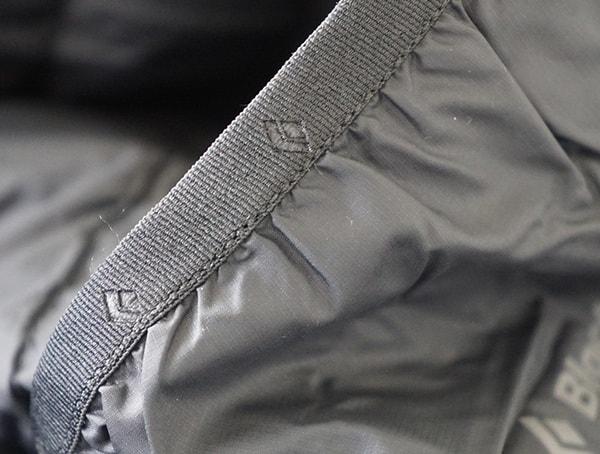 Interior Pocket Logo Detail Black Diamond Mission Down Ski Parka For Men