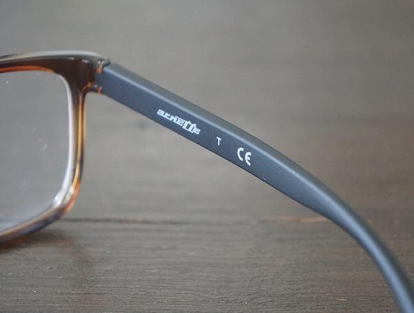 Interior Right Of Frame Arnette Ashland An7127 Glasses For Men