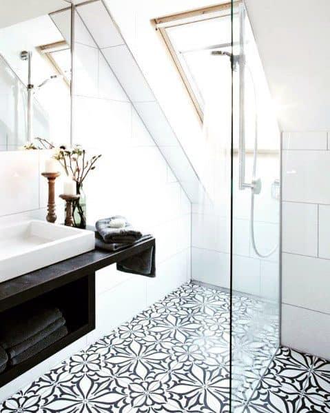Interior Shower Window Design