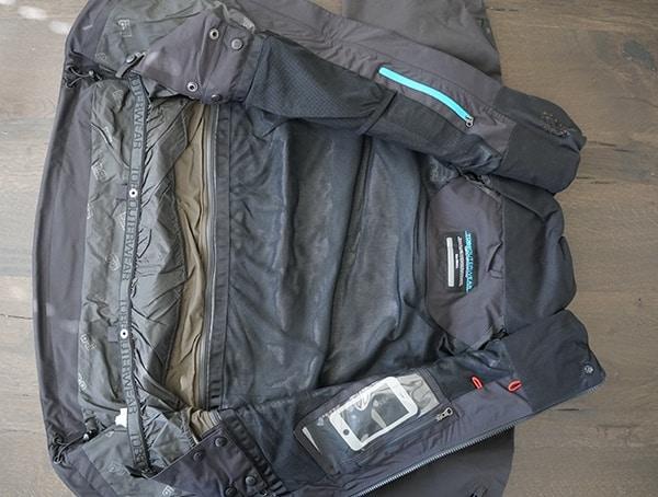 Interior Ski Jacket Lining Tobe Novo Jacket