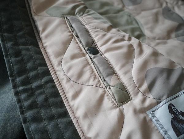 Interior Snap Button Pocket Cockpit Usa Mountain Ranger Parka Closed Shut