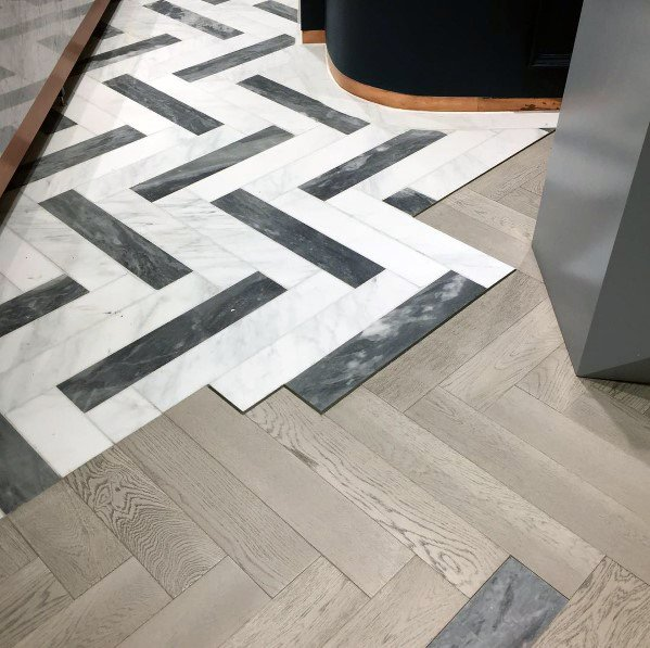 Interior Tile To Wood Floor Transition Design