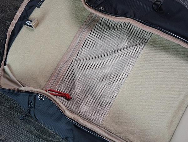 Interior Top Vertx Edc Gamut Plus Backpack