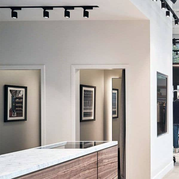 Interior Track Lighting Kitchen Design