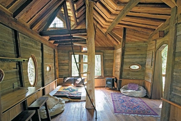 Interior Treehouse Ideas