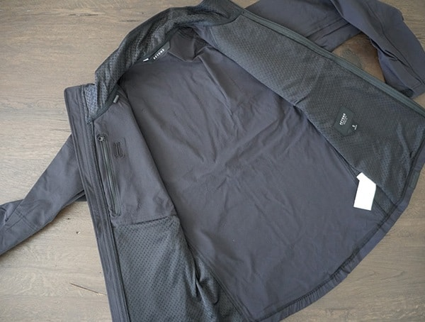 Interior View Beyond Clothing Velox Light Softshell Mens Jackets