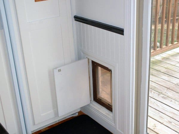 Interior Wall Home Doggy Door