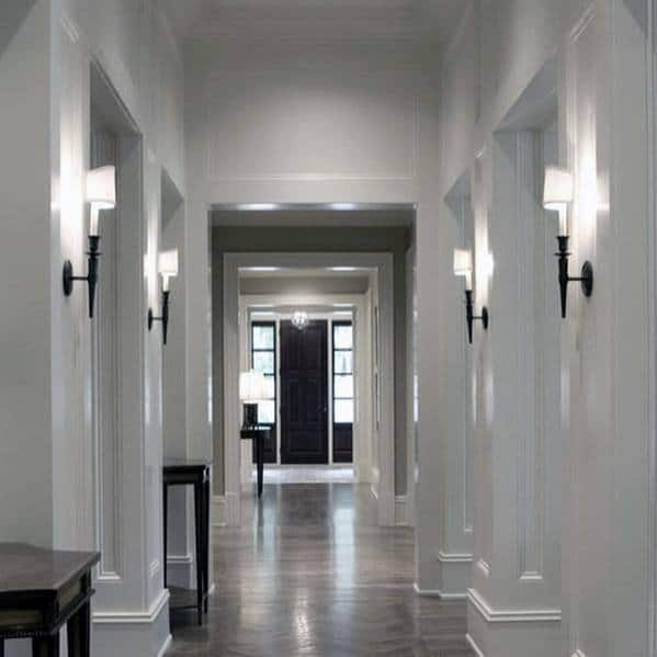 Modern Hallway Ideas: Top 60 Best Hallway Lighting Ideas