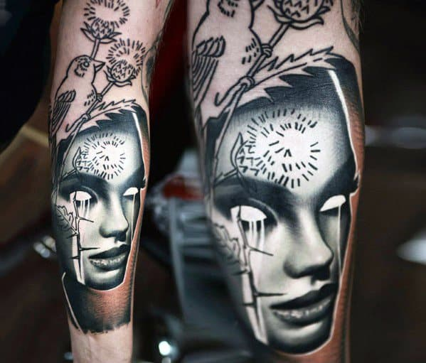 Inverted Tattoo Ideas For Males